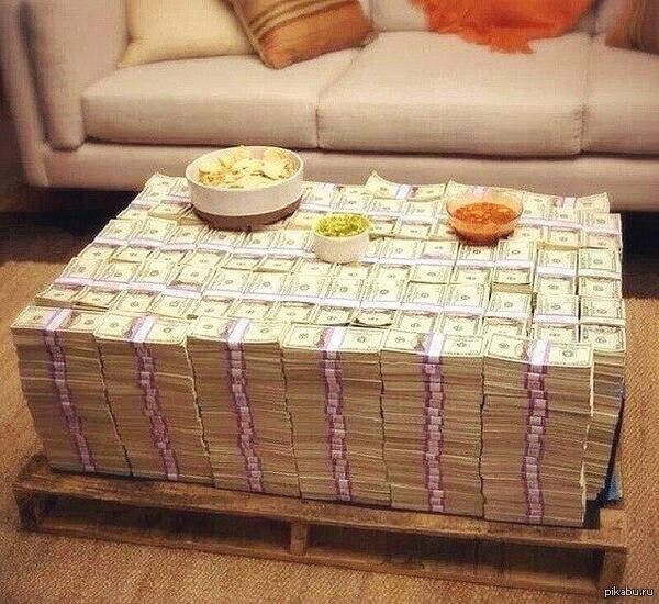 Самодельный столик, который будет радовать вас изо дня в день… (1 фото) - картинка