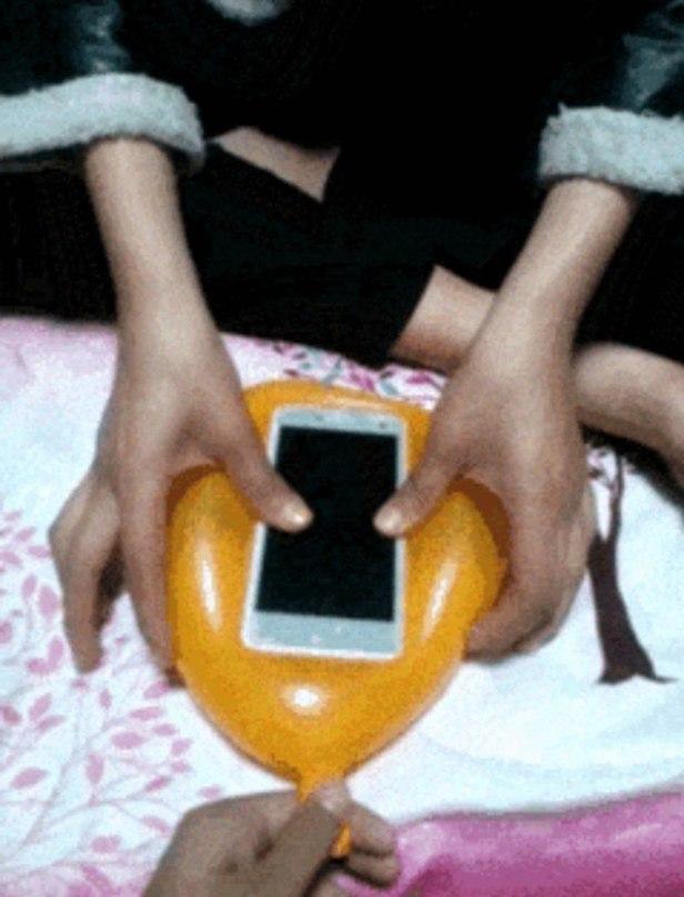 Как сделать чехол для телефона из шарика своими руками 21