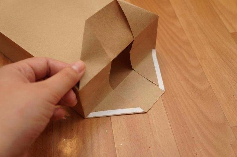 Как из бумаги сделать мешок