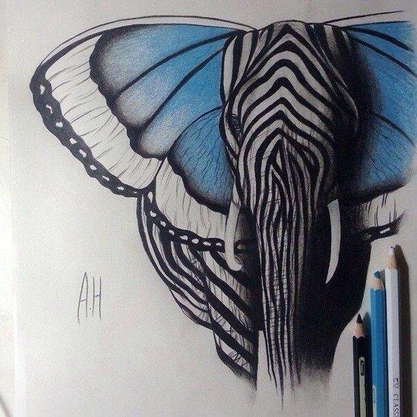 Рисунок карандашами (1 фото) - картинка