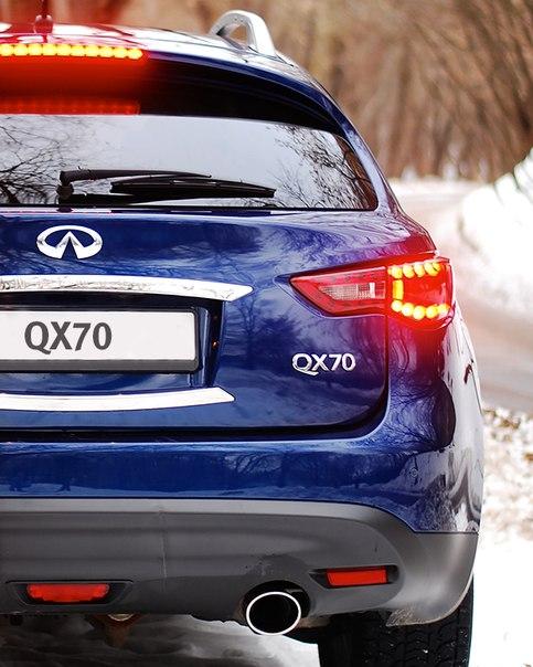 Сноуборд и Infiniti QX70: что между ними общего?