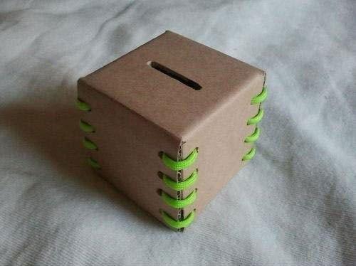 Ideas para el hogar: Alcancía de cartón paso a paso