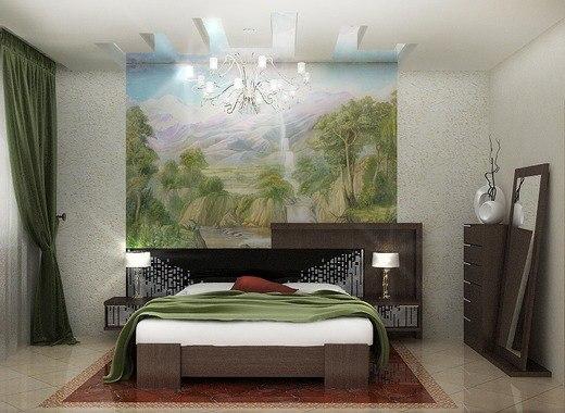 Дизайн интерьера спальни (1 фото) - картинка
