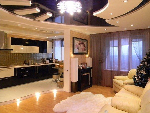 Кухня гостиная (1 фото)