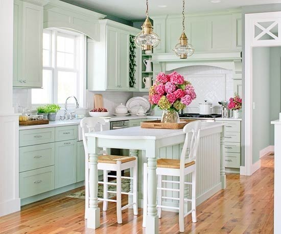 Мятная кухня (1 фото)