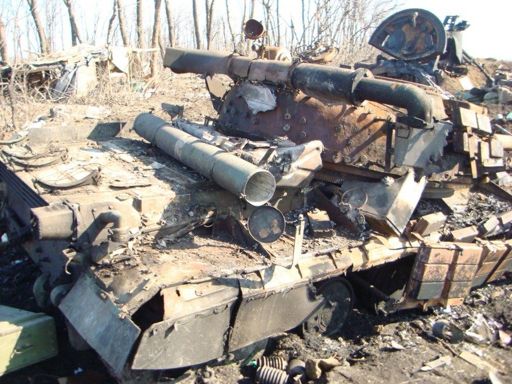 В ДНР пустят на переплавку трофейные украинские танки
