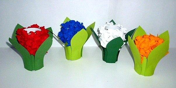 Как сделать цветок из туалетной бумаги своими руками