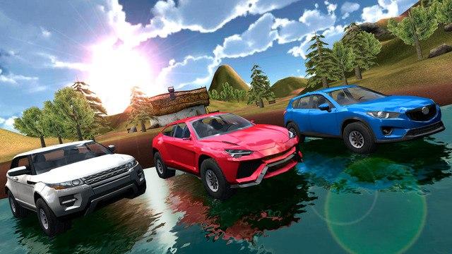 Скачать бесплатно игры для телефона, Скачать Extreme SUV Driving Simulator