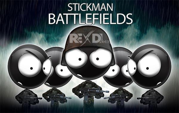Скачать бесплатно игры для телефона, Скачать Stickman Battlefields