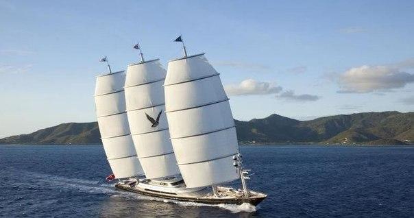 Cамая дорогая парусная яхта в мире Maltese Falcon