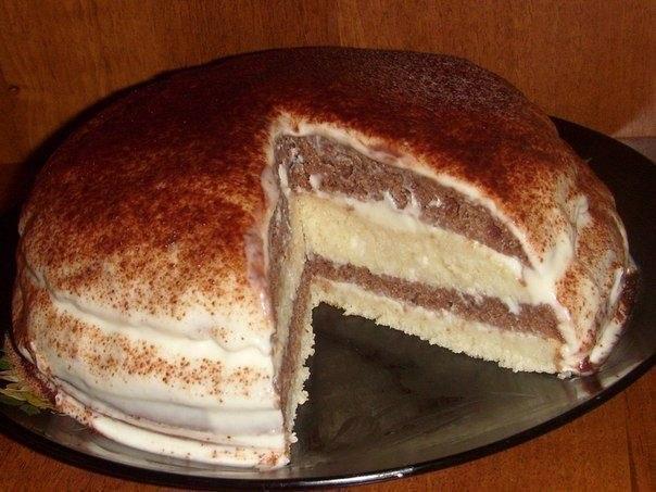Бисквитный торт на кефире рецепт пошагово в домашних условиях