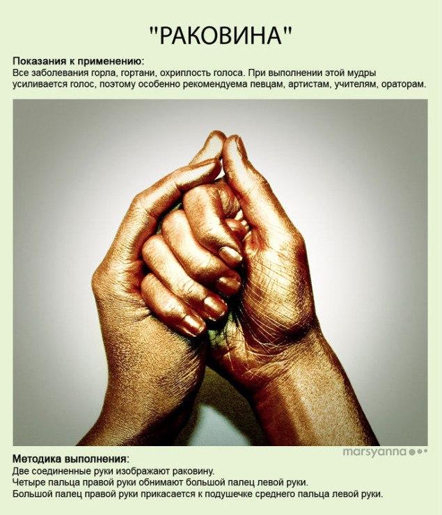 Мудры - йога для пальцев. фото с описанием AzhSoVGEOnc