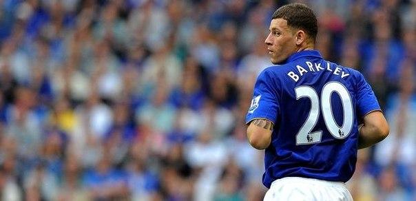 «Эвертон» планирует продлить контракт с Баркли и выкупить Бэрри