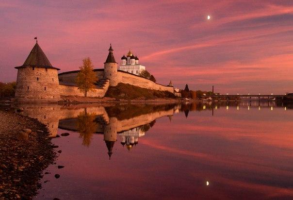 Псковский кремль. Автор фото: Анастасия Новикова.