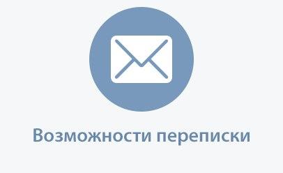 Всё о сообщениях » Возможности переписки » Отправка сообщения