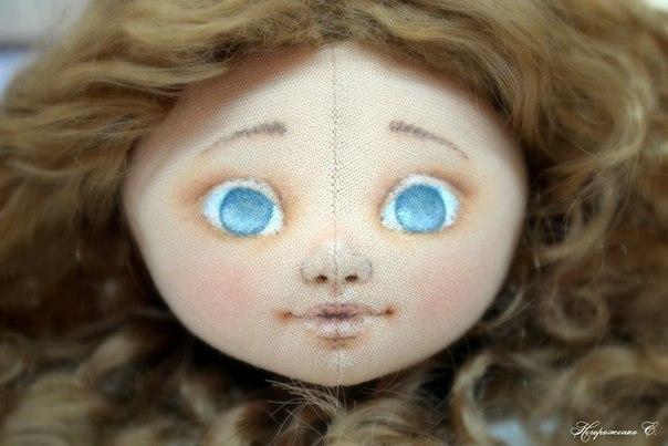 Куклы своими руками нарисовать лицо 321