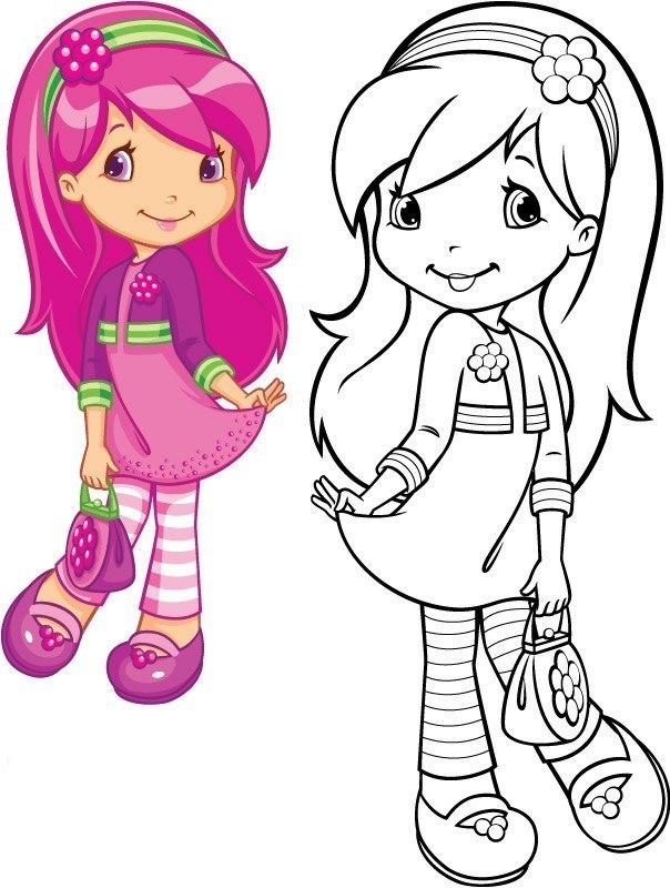 Раскраски для девочек - tvoyrebenokru