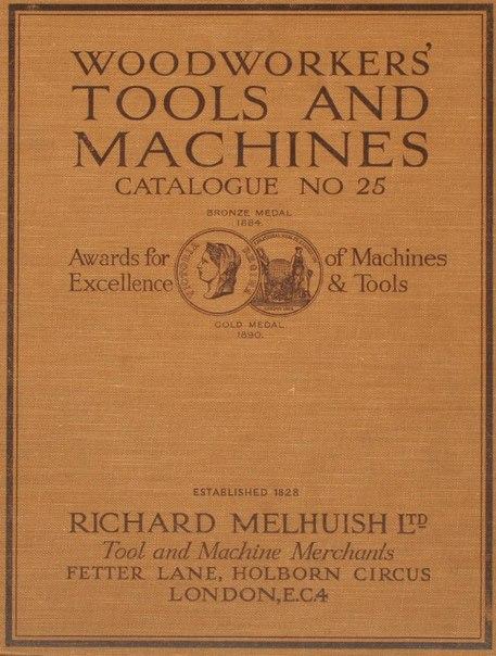 ОЧЕНЬ полезная и увлекательная книга-каталог инструмента (до 1927г.) от Richard...