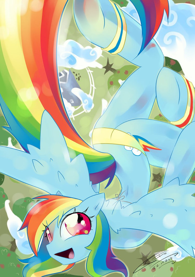 Радуга Дэш уход за пони (my rainbow pony daycare)