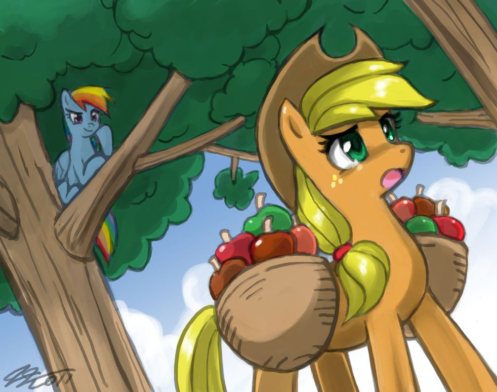 Эппл Джек собирает яблоки (Apple Jack Challenge)