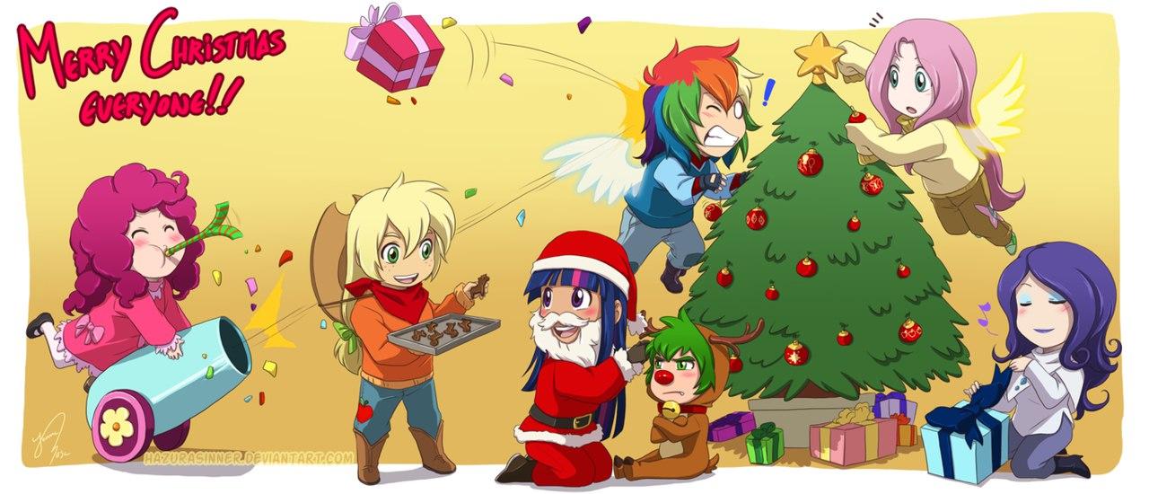 Рождество Пазл Дружба Это Чудо (Little Pony Puzzle)