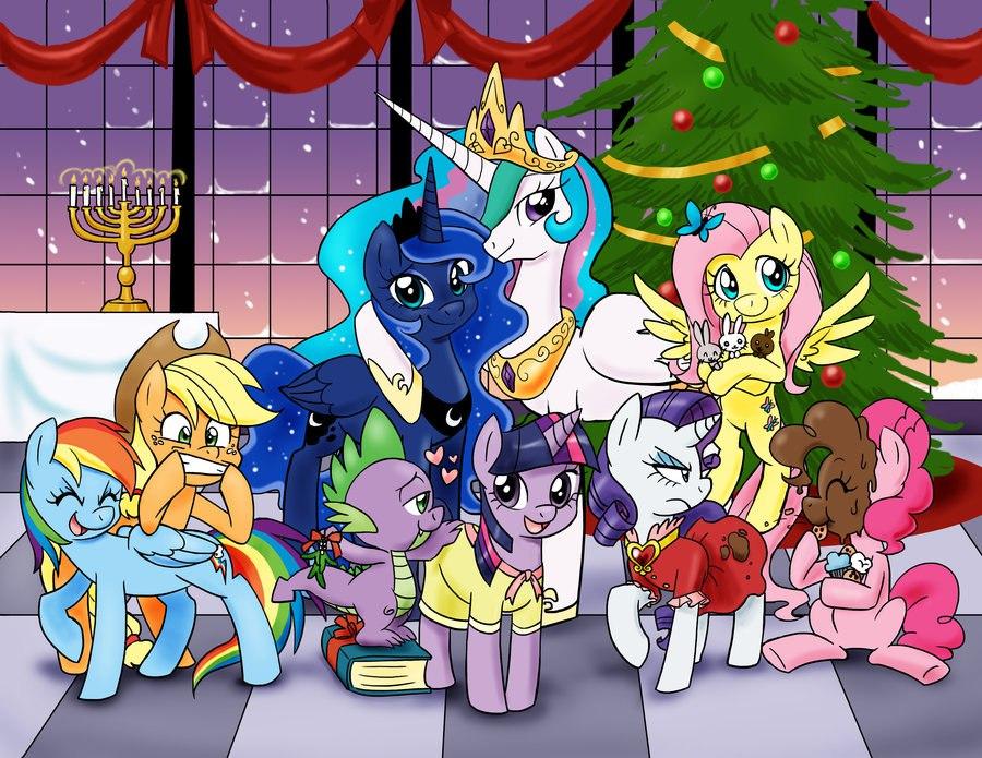 Конкурс Пони Рождество Новый Год с призами