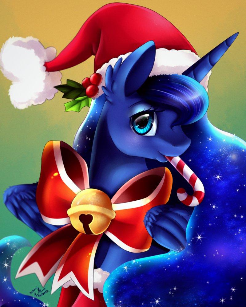 Эквестрия Рождественская Одевалка