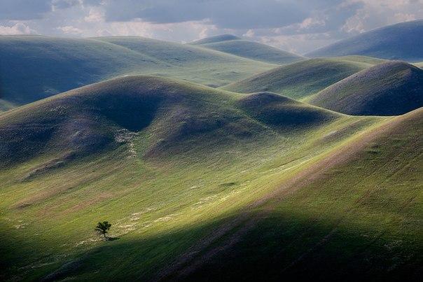 Горы Долгие, Оренбургская область. Автор фото — Олег Грачёв