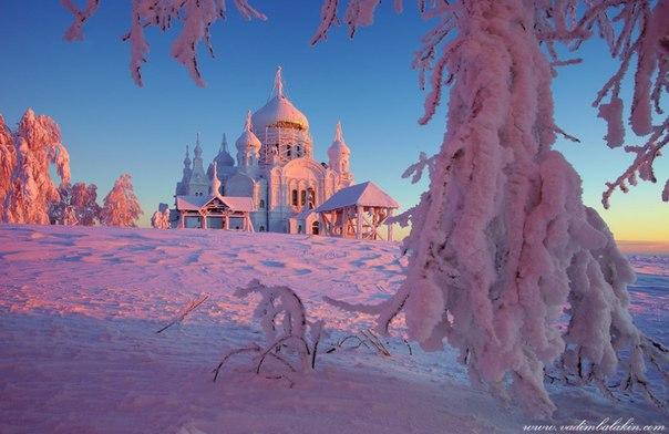 Белогорский монастырь в Пермском крае известен также как «Уральский Афон». Автор фото — Вадим Балакин