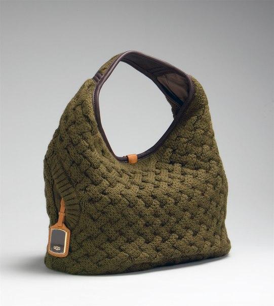 Часть 2 - Вязаная сумочка в