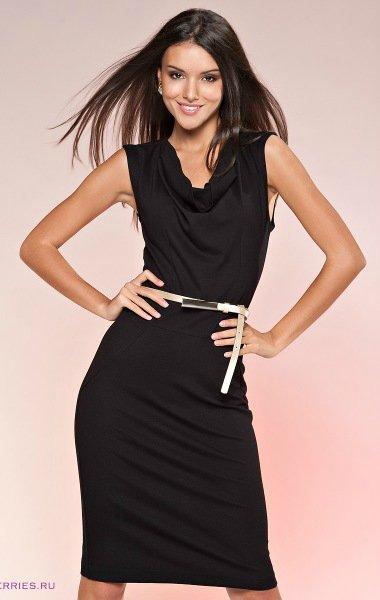 Шьем элегантное коктейльное платье за один вечер. Идет на любую фигуру!… (9 фото) - картинка