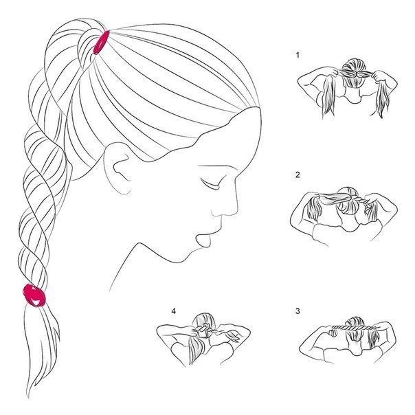 5 способов плетения кос