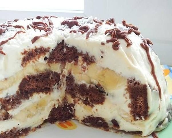 торт из печени без выпечки рецепт с фото