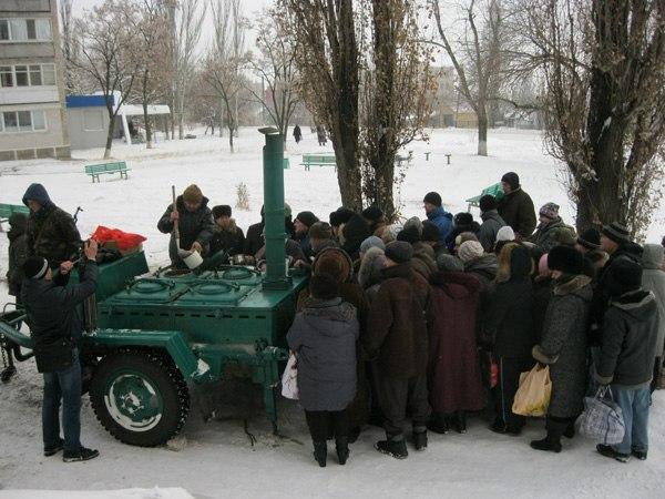 Террористы использовали опасную тактику неприцельного огня, обстреливая населенные пункты Донбасса, - штаб АТО - Цензор.НЕТ 1736