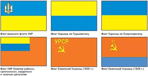 Кто и зачем перевернул флаг украины