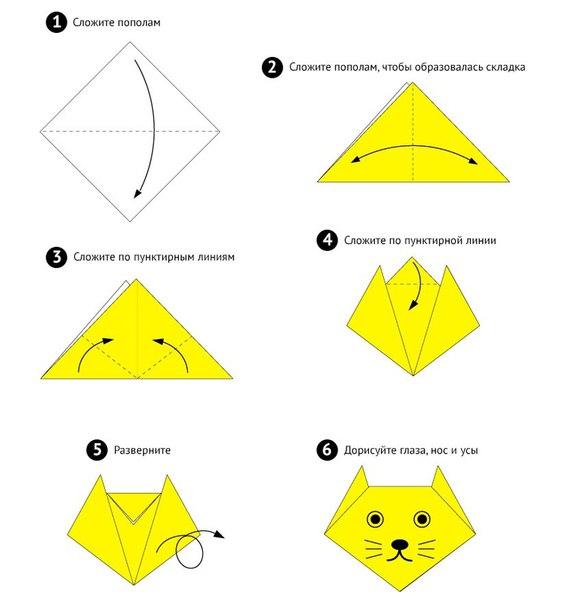 Как делать оригами из бумаги