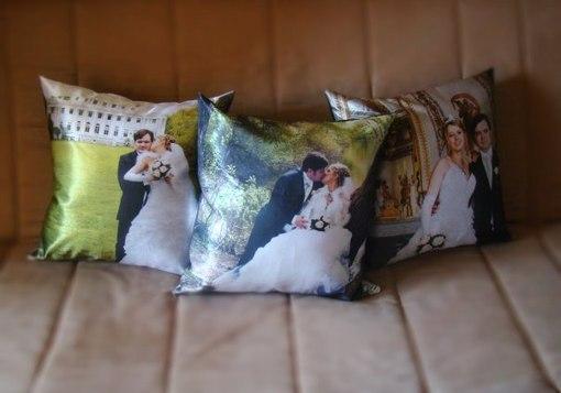 Как сделать подушку с фото