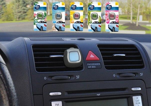 Новый освежитель для машины Ambi Pur: стильный, свежий и безопасный