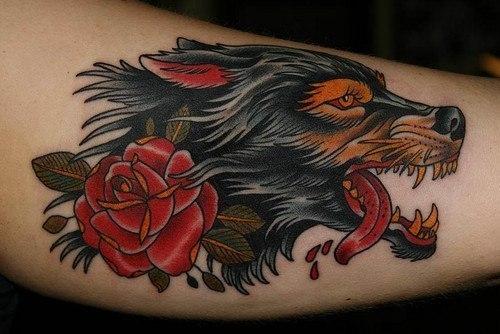 Первая татуировка