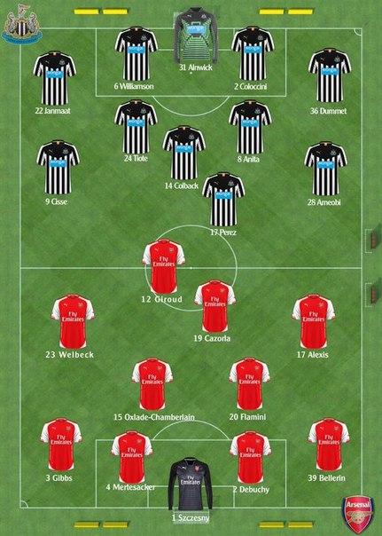 Премьер Лига: Арсенал - Ньюкасл. Превью
