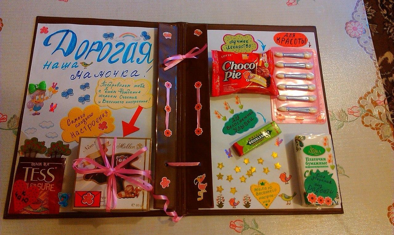 Плакаты с подарками своими руками фото 894