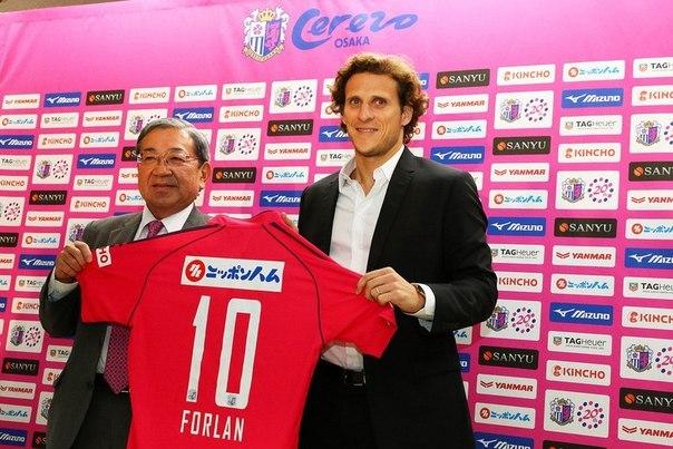 Постер к новости Форлан продолжит карьеру в «Пеньяроле»