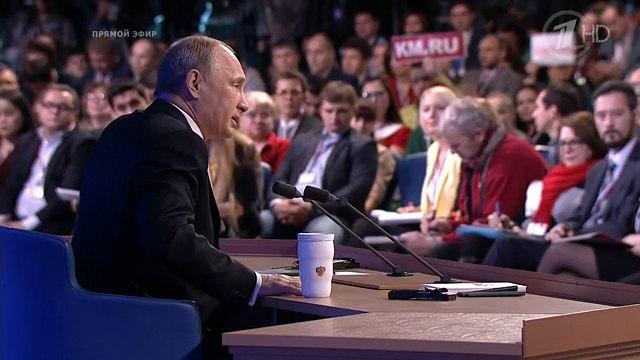 Пресс-конференция президента России Владимира Путина: экономические цифры и факты