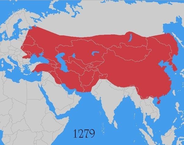 Монгольская империя: