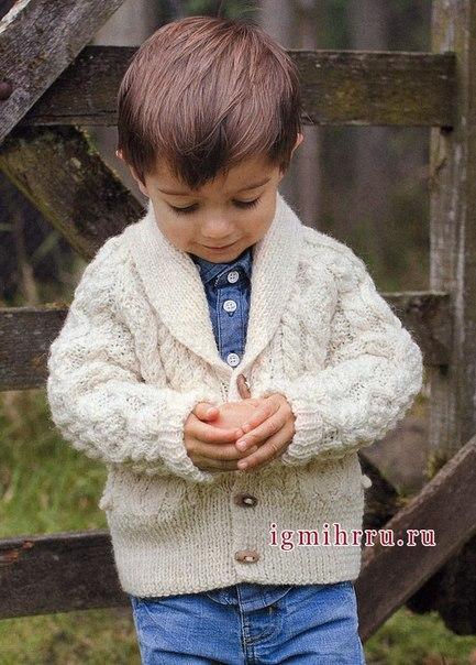 Жакет для мальчика (3 фото) - картинка