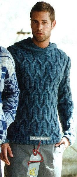 Мужской свитер (2 фото) - картинка