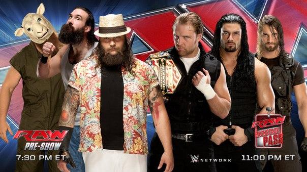 Спойлер с Raw