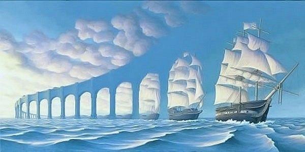 Роб Гонсалвес — канадский художник, яркий представитель редкого жанра — магического реализма