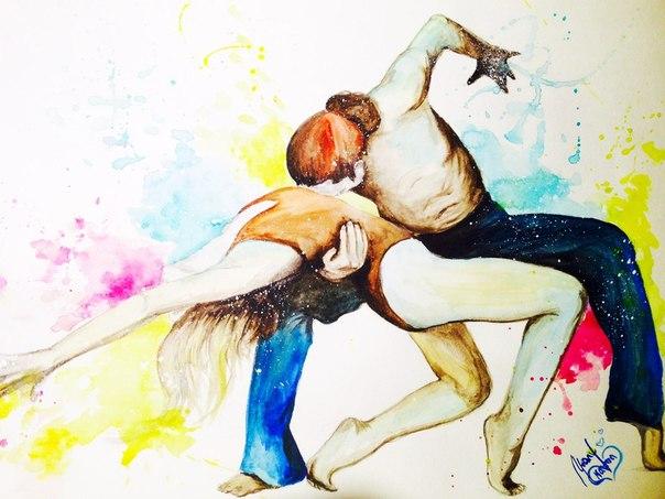 Цвет и эмоции в работах Mary Karma