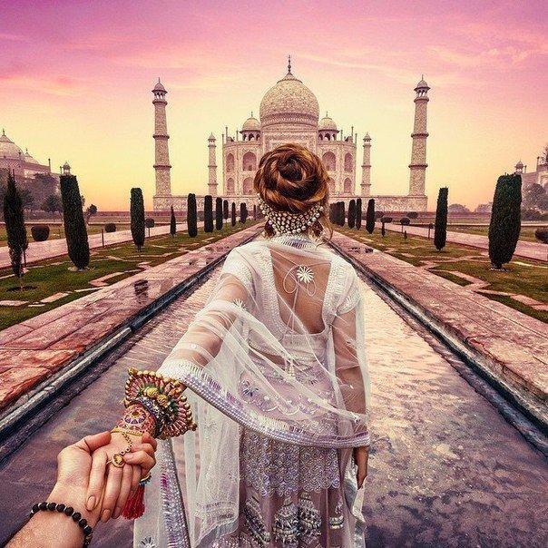 """Из Индии с любовью: продолжение фотопроекта """"Следуй за мной"""" от молодого дагестанского фотографа Мурада Османна"""